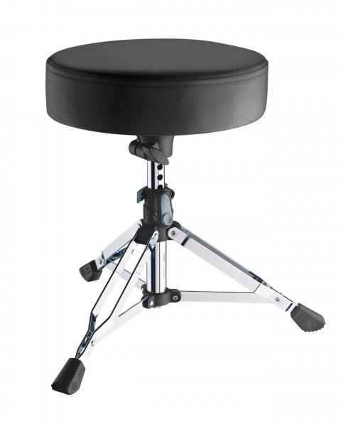 K&M 14010 Schlagzeughocker Piccolino verchromt